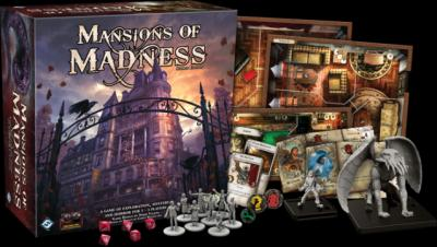 Mansions of Madness Second Edition is an app-assisted horror game inspired by the works of H.P. Lovecraft. It allows a group of adventurers to explore a story-driven adventure in an old spooky mansion. (Deseret Photo)