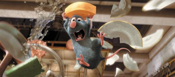 "Remy in ""Ratatouille."" (Deseret Photo)"