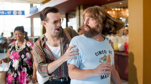 "Jason Sudekis, left, and Zach Galifianakis star in Relativity Media's upcoming release ""Masterminds."" (Deseret Photo)"