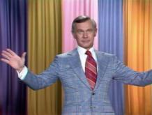 "Johnny Carson tries to come back from a less-than-successful gag during his opening monologue in an early 1970s episode of ""The Tonight Show Starring Johnny Carson."" A second collection of ""The Vault Series,"" featuring complete episodes, is now on DVD. (Deseret Photo)"
