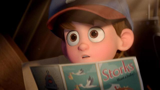 "Nate Gardner (voice of Anton Starkman) in ""Storks."" (Deseret Photo)"