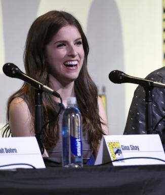 "Anna Kendrick attends the ""Trolls"" panel at Comic-Con International on Thursday, July 21, 2016, in San Diego. Kendrick has reportedly expressed interest in playing Squirrel Girl. (Deseret Photo)"