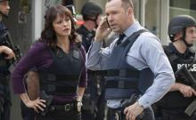 "NYPD detectives Maria Baez (Marisa Ramirez) and Danny Reagan (Donnie Wahlberg) are working on a case in Season 6 of ""Blue Bloods,"" now on DVD. (Deseret Photo)"