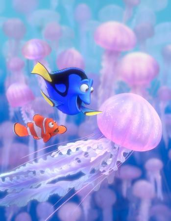 "Marlin (left) and Dory (right) in Disney/Pixar's ""Finding Nemo."" Courtesy of Disney/Pixar. (Submission date: 05/28/2003) (Submission date: 09/25/2003) (Deseret Photo)"