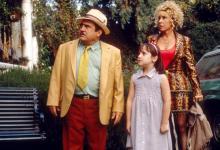 """Danny DeVito, left, Mara Wilson and Rhea Perlman in """"Matilda."""" (Deseret Photo)"""