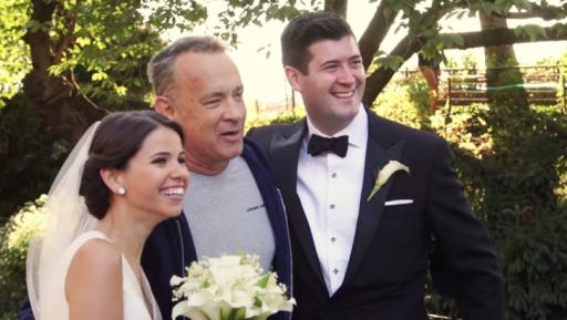Good guy Tom Hanks is at it again. This time he decided to surprise a bride and groom on their big day. (Deseret Photo)