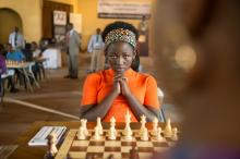 Madina Nalwanga is Phiona Mutesi in Disney's QUEEN OF KATWE, the vibrant true story of a young girl from the streets of rural Uganda whose world rapidly changes when she is introduced to the game of chess. David Oyelowo and Oscar (TM) Lupita Nyong'o also starin the film, directed by Mira Nair. (Deseret Photo)