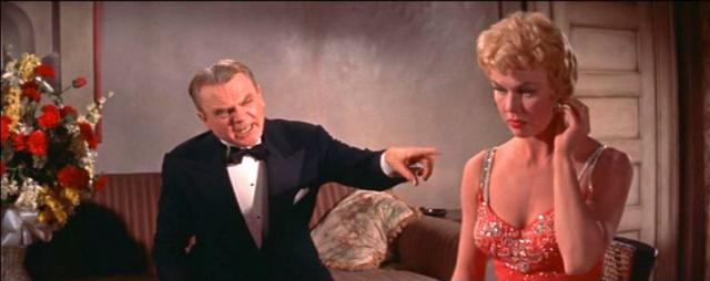 """James Cagney and Doris Day star in """"Love Me or Leave Me"""" (1955), a musical drama based on the life of 1920s and '30s songbird Ruth Etting, now on Blu-ray for the first time. (Deseret Photo)"""
