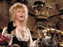 "David Bowie is the Goblin King in Jim Henson's ""Labyrinth"" (1986), newly released in a 30th anniversary Blu-ray edition. (Deseret Photo)"