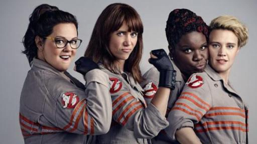 Melissa McCarthy, left, Kristen Wiig, Leslie Jones and Kate McKinnon are the 2016 Ghostbusters, but since the film flopped at the box office don't expect a sequel. (Deseret Photo)