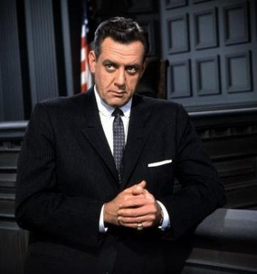 "Raymond Burr stars as ""Perry Mason"" in the 1950s-'60s TV series, which aired in black and white except for a single color episode in its ninth and final season. The entire series is now on DVD in a new box set. (Deseret Photo)"