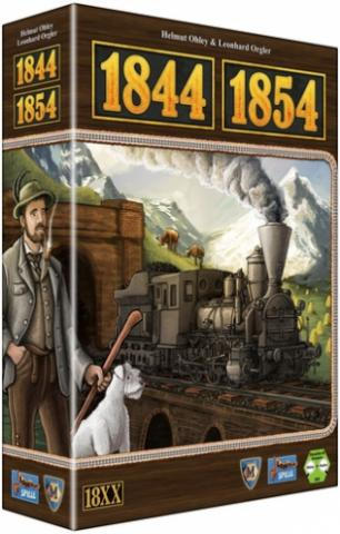 The railway history of both Switzerland and Austria can be explored in 1844/1854, two previously self-published designs — both based on the 1829 game system created by Francis Tresham — that have thoroughly revised for this new edition. (Deseret Photo)