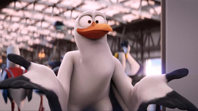 """Junior (voice of Andy Samberg) in """"Storks."""" (Deseret Photo)"""