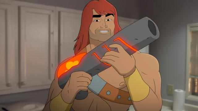 "Zorn (voiced by Jason Sudeikis) in the ""The Weekend Warrior"" episode of ""Son of Zorn,"" which airs on Fox. (Deseret Photo)"