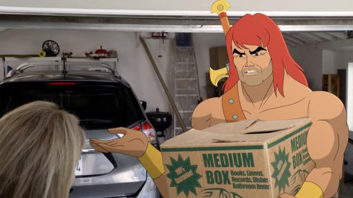 "Zorn (voiced by Jason Sudeikis) in the ""Defender of Teen Love"" episode of ""Son of Zorn,"" which airs on Fox. (Deseret Photo)"