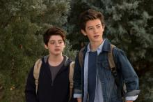 "Griffin Gluck and Thomas Barbusca in ""Middle School: The Worst Years of My Life (2016)."" (Deseret Photo)"