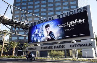 One of the attractions at Universal Studios Hollywood is The Wizarding World of Harry Potter. (Deseret Photo)
