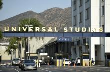 The entrance to the Universal Studios lot is in Universal City, California. (Deseret Photo)