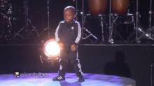 IMAGE: Have You Seen This? 4-year-old dancer kills it on 'Ellen'