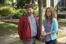 "An ordinary suburban couple (Zach Galifianakis, Isla Fisher) is about to see its life turned upside down when a new couple moves next door in ""Keeping Up With the Joneses."" (Deseret Photo)"