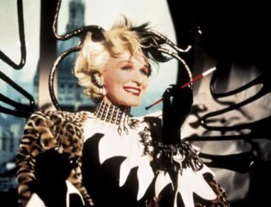 "Cruella de Vil was played by Glenn Close in two films based on Disney's 1961 animated classic ""101 Dalmatians."" (Deseret Photo)"