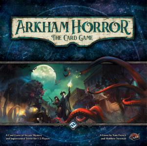 "Something evil stirs in Arkham, and only you can stop it. Blurring the traditional lines between role playing and card game experiences, ""Arkham Horror: The Card Game"" is a Living Card Game of Lovecraftian with mystery, monsters and madness. (Deseret Photo)"