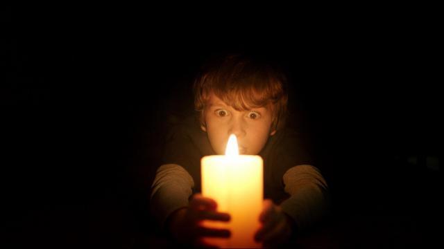 "Gabriel Bateman as Martin in ""Lights Out."" (Deseret Photo)"