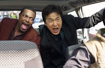 "Chris Tucker, left, and Jackie Chan star in ""Rush Hour."" A new Blu-ray set of all three ""Rush Hour"" films is set for release on Tuesday, Nov. 8. (Deseret Photo)"