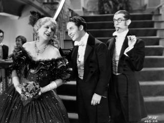 "Jobyna Howland, with Bert Wheeler, center, and Robert Woolsey in the comedy ""Dixiana,"" one of six films in the new DVD set ""Wheeler & Woolsey: RKO Comedy Classics, Volume 2"" (1930-36). (Deseret Photo)"