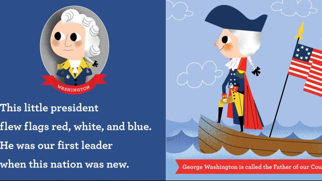 """This Little President"" is written by Joan Holub and illustrated by Daniel Roode. It gives young readers interesting facts and tidbits about former presidents of the United States. (Deseret Photo)"