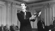 "James Stewart stars in the famous filibuster sequence that concludes ""Mr. Smith Goes to Washington"" (1939). (Deseret Photo)"