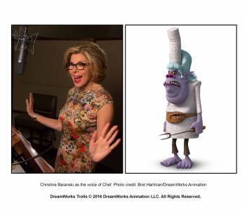 "Christine Baranski is the voice of Chef in ""Trolls."" (Deseret Photo)"