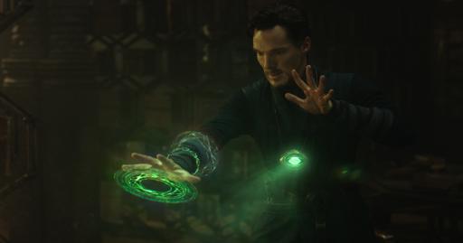 Marvel's DOCTOR STRANGE  Doctor Stephen Strange (Benedict Cumberbatch)  Photo Credit: Film Frame   ©2016 Marvel. All Rights Reserved. (Deseret Photo)