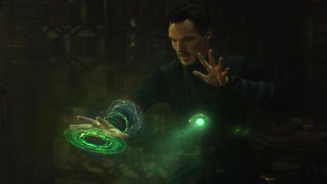 Marvel's DOCTOR STRANGE  Doctor Stephen Strange (Benedict Cumberbatch)  Photo Credit: Film Frame   (c)2016 Marvel. All Rights Reserved. (Deseret Photo)