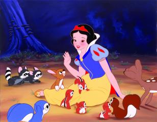 """A scene from Disney's 1937 """"Snow White and the Seven Dwarfs."""" (Deseret Photo)"""