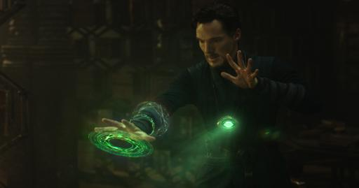 Benedict Cumberbatch plays Doctor Stephen Strange in Marvel's new movie. (Deseret Photo)
