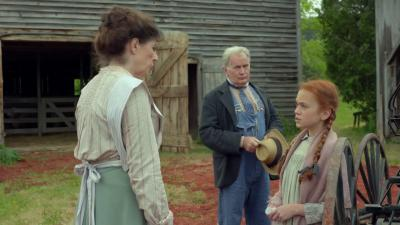 "Sara Botsford, left, Martin Sheen and Ella Ballentine star in the latest adaptation of the oft-filmed ""Anne of Green Gables,"" now on DVD. (Deseret Photo)"