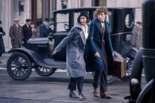 """Katherine Waterson as Tina and Eddie Redmayne as Newt Scamander in Warner Bros. Pictures' fantasy adventure """"Fantastic Beasts and Where to Find Them,"""" a Warner Bros. Pictures release. (Deseret Photo)"""