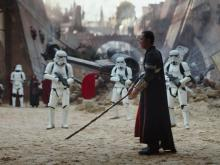"Donnie Yen in a scene from ""Rogue One: A Star Wars Story."" (Deseret Photo)"