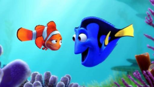 "Marlin, left, and Dory set out on a new quest, to find her parents, in ""Finding Dory,"" the Disney/Pixar animated sequel that has become the year's biggest hit, and which arrived on Blu-ray and DVD this week. (Deseret Photo)"