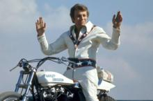 "Fearless daredevil Evel Knievel in his prime as shown in the new documentary ""Being Evel,"" now on DVD. (Deseret Photo)"