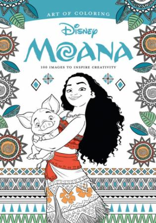 """Moana"" coloring book (Deseret Photo)"