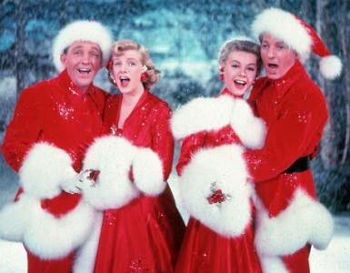 """Bing Crosby, left, Rosemary Clooney, Vera-Ellen and Danny Kaye star in the perennial favorite """"White Christmas"""" (1954). (Deseret Photo)"""