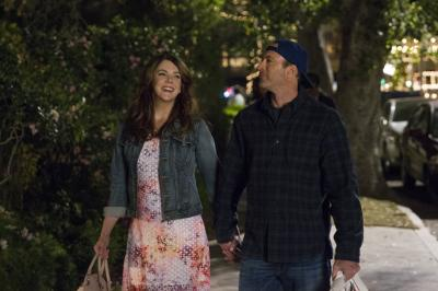 Lauren Graham and Scott Patterson in Gilmore Girls: A Year in the Life (2016) (Deseret Photo)