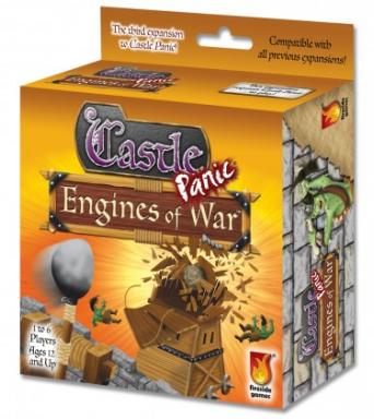 Engines of War introduces a light economic mechanic to the world of Castle Panic. The Engineer uses new Resource cards to build catapults, ballistas, barricades and more to better defend the castle from the growing monster threat. (Deseret Photo)