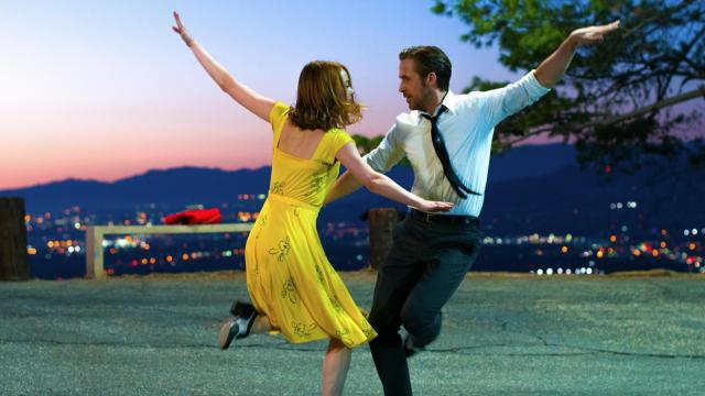 "Emma Stone as Mia and Ryan Gosling as Sebastian in ""La La Land,"" which will be released in Utah on Dec. 16, 2016. (Deseret Photo)"