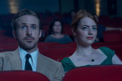 "Ryan Gosling as Sebastian and Emma Stone as Mia in ""La La Land,"" which will be released in Utah on Dec. 16, 2016. (Deseret Photo)"