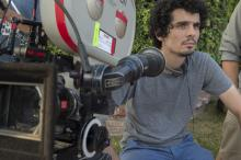 "Director Damien Chazelle on the set of ""La La Land,"" which will be released in Utah on Dec. 16, 2016. (Deseret Photo)"