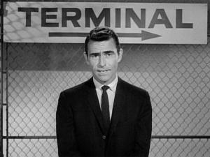 """Rod Serling, """"Twilight Zone"""" creator and host (and author of many of the show's classic episodes), gives an on-camera introduction in the new reduced-price Blu-ray set """"The Twilight Zone: The Complete Series."""" (Deseret Photo)"""