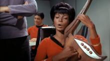 "In the new Blu-ray release, ""Star Trek: The Original Series: The Roddenberry Vault,"" Nichelle Nichols sings in its entirety a song that was trimmed in a ""Star Trek"" episode. (Deseret Photo)"